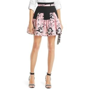 DVF Claire Pleated Skirt
